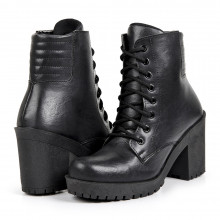 Ankle Boot Tratorado...