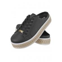 Mule Maresias CR Shoes Feminino Preto