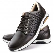 Sapato Masculino Oxford - Marrom - Sola de Couro