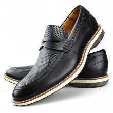 Sapato Oxford Casual Masculino Marrom