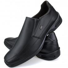 Sapato Social Conforto Neway Masculino Preto