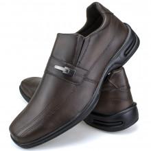 Sapato Social Conforto Neway Masculino Marrom