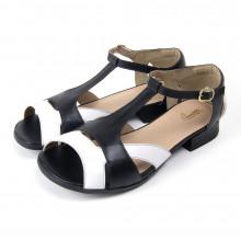 Sapato Miuzzi Feminino Branco e Preto
