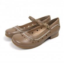 Sapato Miuzzi Feminino Taupe